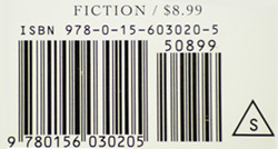 A close-up image shows an ISBN-13 label on a novel.
