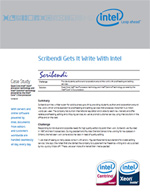 Screen shot of Intel Case Study on Scribendi.com.