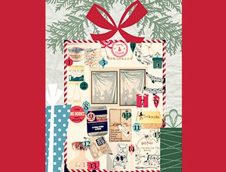 A present filled with gifts for book lovers.