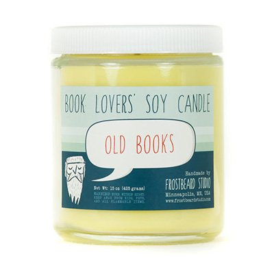 Book Lovers' Soy Candle