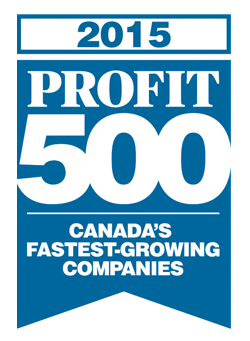 The PROFIT 500 2015 logo.