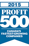 Scribendi earns a spot on the PROFIT 500 list in 2015.
