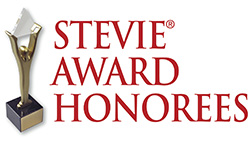 The Stevie Award Honoree logo.