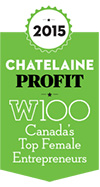 Profit W100 honored Chandra Clarke in 2015.