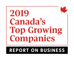 2019 Canada's Top Growing Companies Award