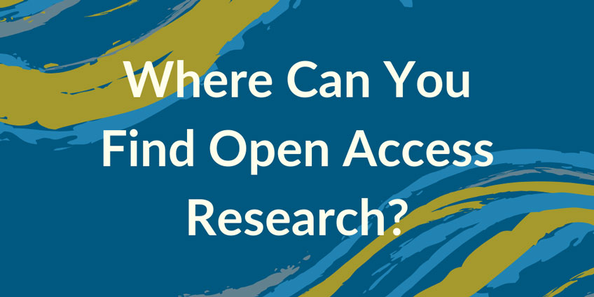 Where Can You Find Open Access Research?