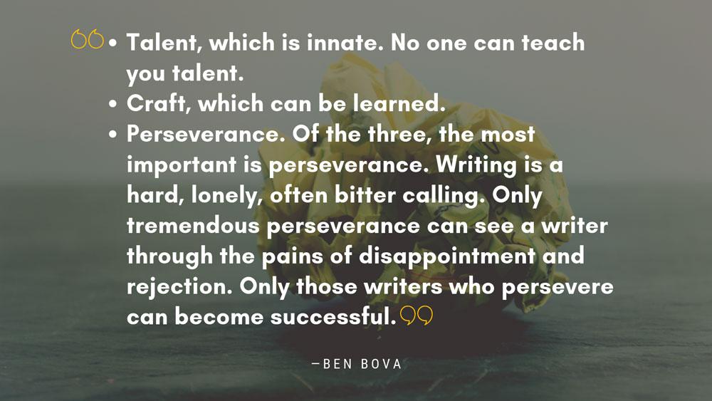 Ben Bova Quote