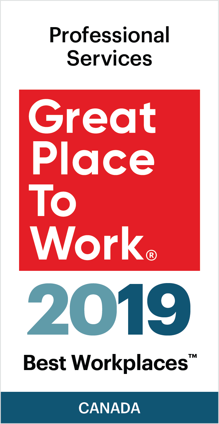 2019 Best Workplaces Professional Services Award