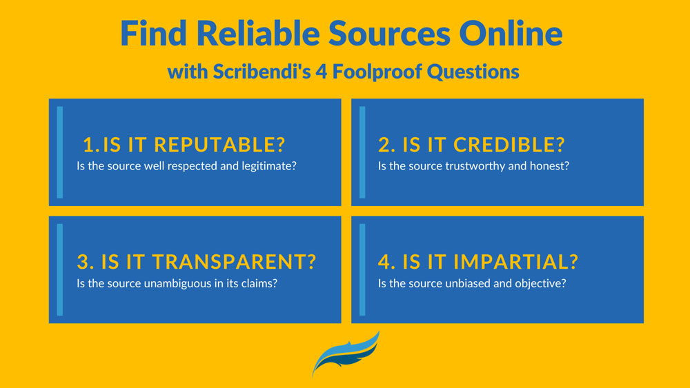 Find Reliable Sources Online