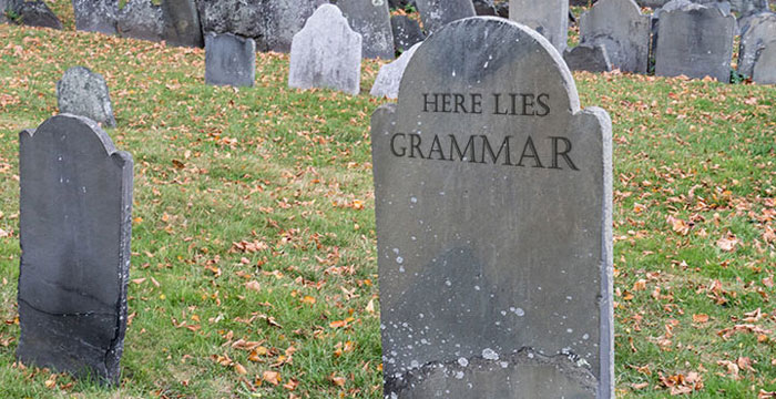 Grammar Apocalypse Scribendi