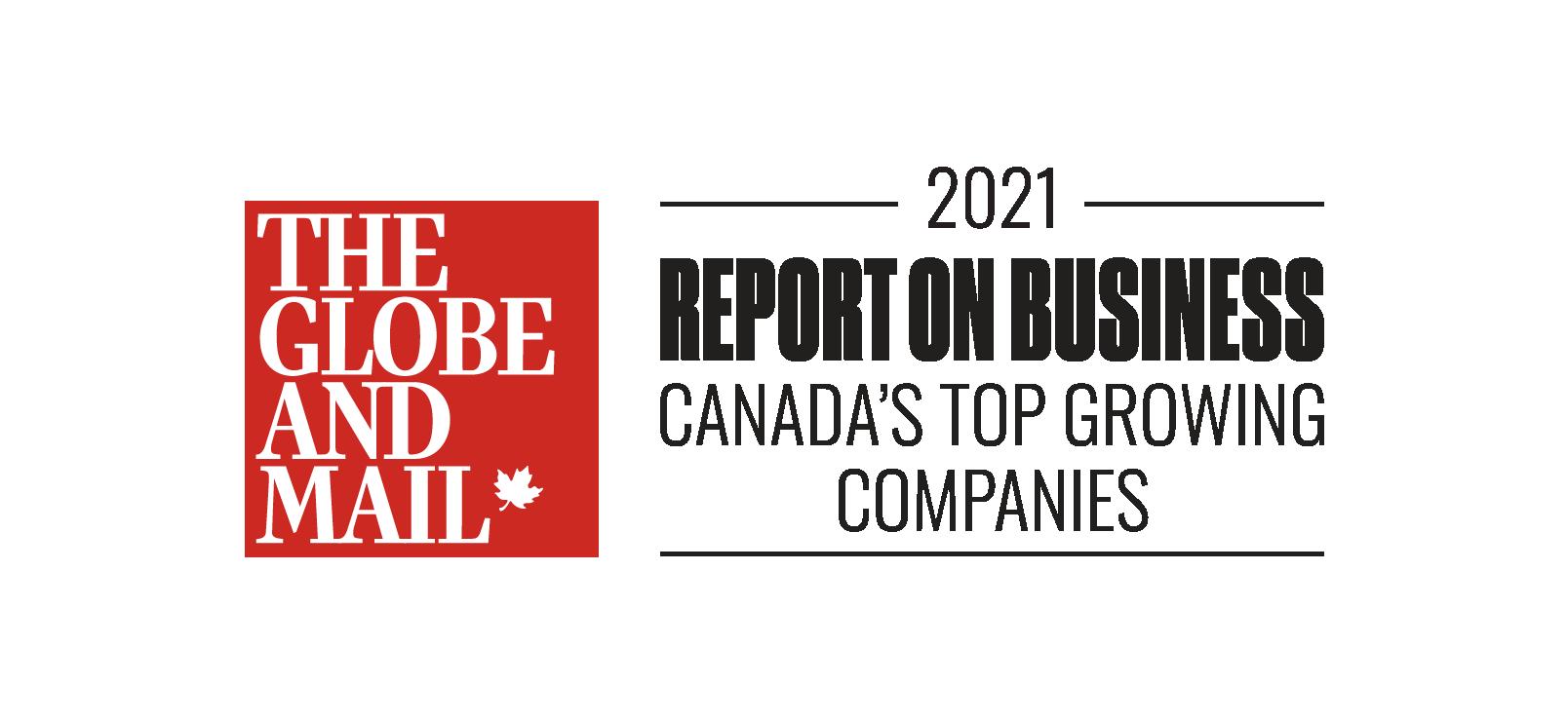 Canada's Top Growing Companies 2021