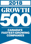 Scribendi earns a spot on the GROWTH 500 list in 2018.