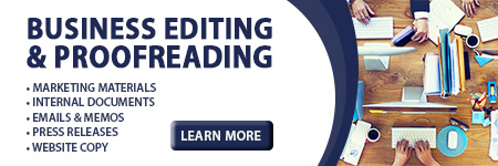 Business Editing and Proofreading