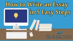 Scribendi.com launched How to Write an Essay in 5 Easy Steps as an online course available on Udemy.