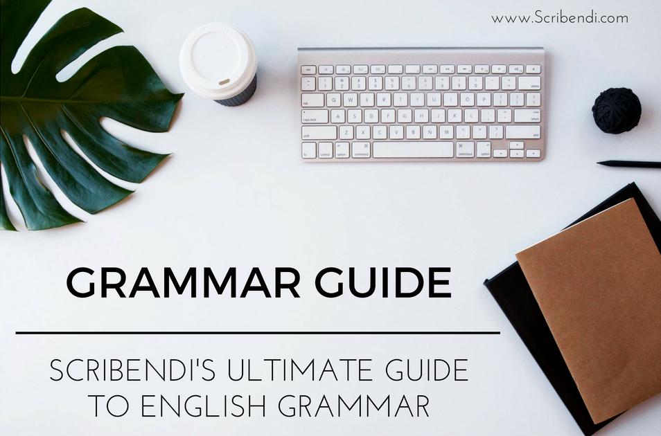 english grammar guide scribendi