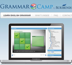 Screenshot from GrammarCamp.com.
