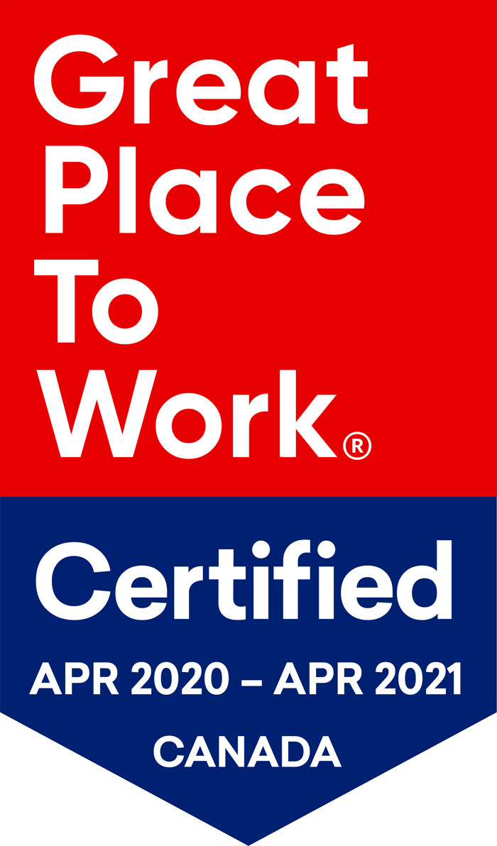 2020 Great Place to Work Award