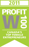 Profit W100 honored Chandra Clarke in 2011.