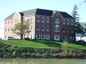 A photograph of the Scribendi.com head offices in Chatham, Ontario.