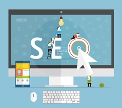 The difference between search engine marketing and search engine optimization.