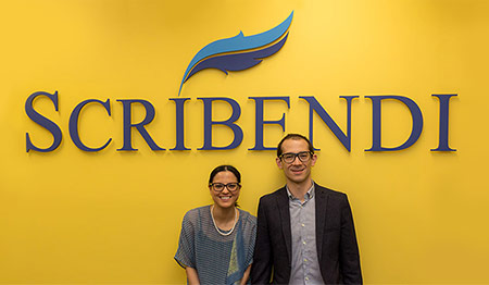 Scribendi's President and CEO.