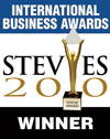 2010 International Business Awards - Stevie - Winner Logo.