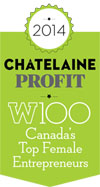 Profit W100 honored Chandra Clarke in 2014.