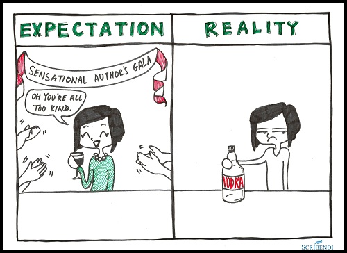 Dinner - Expectation vs. Reality.