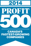 Scribendi earns a spot on the PROFIT 500 list in 2014.