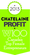Profit W100 honored Chandra Clarke in 2013.