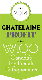 Scribendi.com president, Chandra Clarke, named one of Canada's top female entrepreneurs by Profit W100.