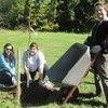 Staff Volunteer to Plant Trees at Chatham Park