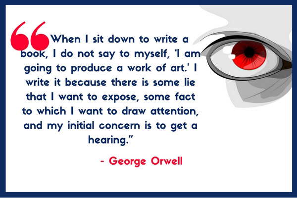 george orwell bibliography essays