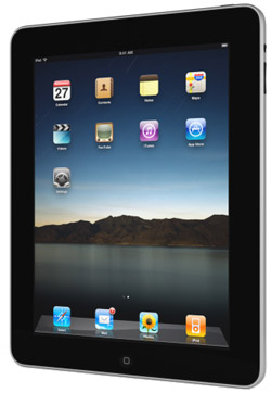 An image of an iPad. Scribendi.com has launched an iPad Giveaway to thank our loyal customers.
