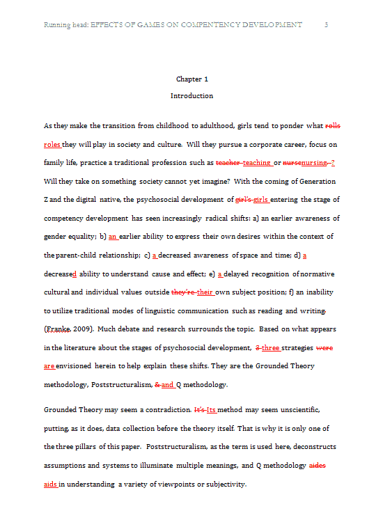 Dissertation Statistical Service Proofreading, Dissertation Committee ...