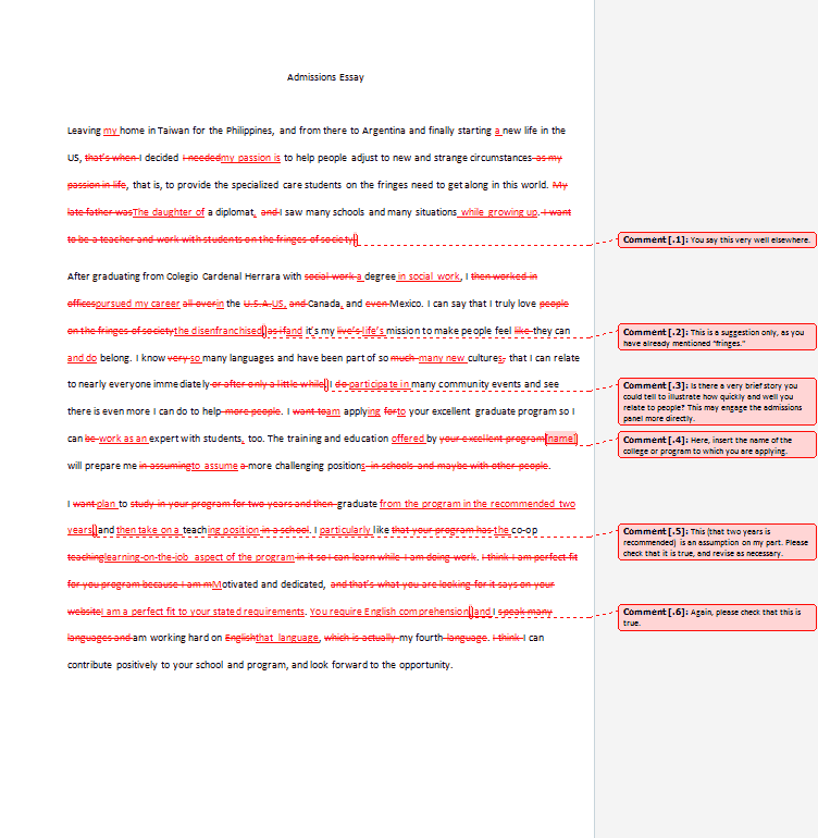 after editing - Good College Essays Examples