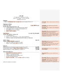 Resume Editing Sample (After)